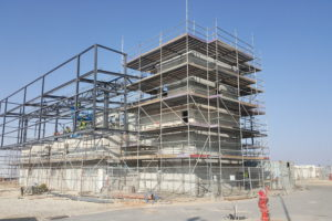 Control building GE Ashalim Plot B 2017