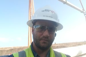 2018 Leviathan onshore gas pipeline. Mechanical contractors EHS management
