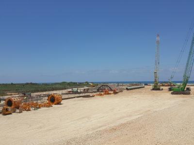 ENERGEAN pipeline project 2019 Near shore