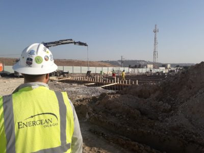 ENERGEAN pipeline project 2020 Dor valve station